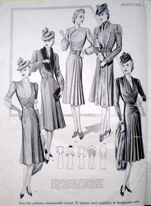 women ww2 fashion 1940s adverts magazines magazine